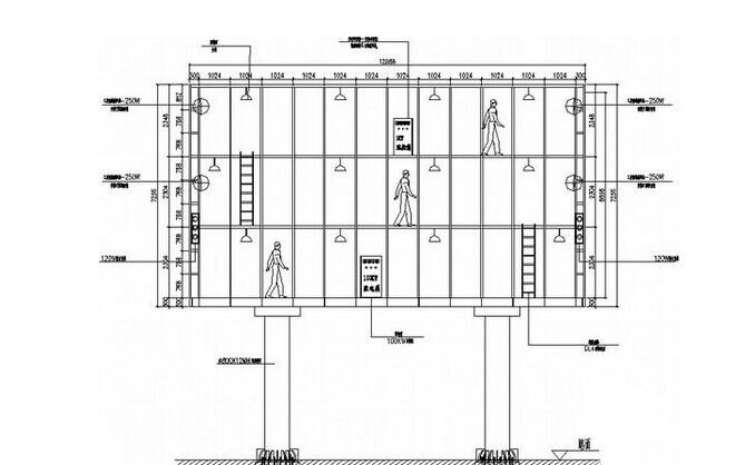 钢结构中2l50*4, 0-180是什么意思